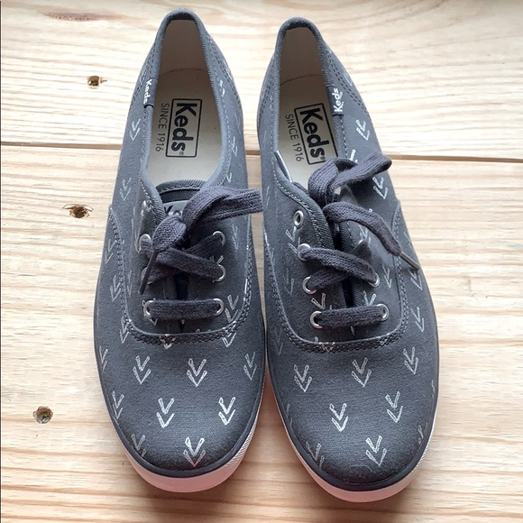 Arrow Pattern Keds